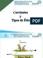 Corrientes y Tipos de Ética