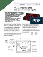 Load Display Fd100-Fd200 Datasheet