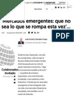 'Mercados Emergentes