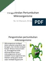 Pengontrolan Pertumbuhan   Mikroorganisme