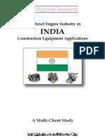 Diesel Engines - India - September 2016