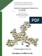European Company Profile Sample