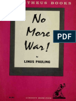 No More War pdf  - Pauling, Linus, 1901