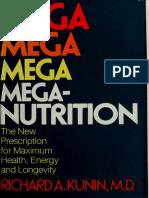Mega-nutrition _ the new prescription for - Kunin, Richard A.pdf
