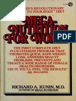 Mega Nutrition for Women - Richard A. Kunin pdf