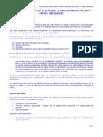RESUMEN - RECONOCIMIENTO DE LOS EFECTOS DE LA INFLACIÓN EN EL ACTIVO Y PASIVO CIRCULANTE