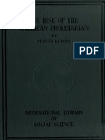 Lewis, Austin [c1911] - The Rise of the American Proletarian.pdf
