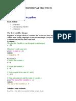 Internship Prutech Documentation
