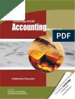 Cambridge IGCSE Accounting Workbook