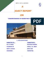 Report1; Marketing Strategy