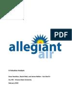 Allegiant Report