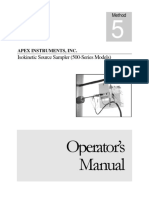 Operator Manual Stack Sampling