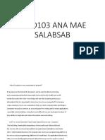 Beed103 Ana Mae
