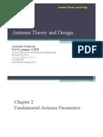 Lectrure 2.Basic Antenna Parameters