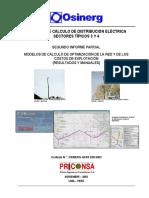 MODELOS DE CÁLCULO DE DISTRIBUCIÓN ELÉCTRICA SECTORES TÍPICOS 3 Y 4