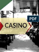 Casino Menu PDF