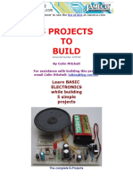 Electronics Exam Projects