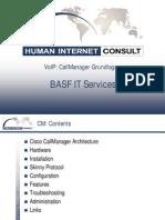 Cisco Call Manager Basics (Voip)