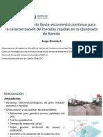 8. Metodologia de Investigacion Ejemplo Simulacion J Gironás