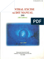 Central Excise Audit Manual 2008