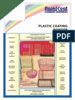LDPE Plastic coating for metal