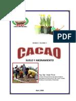 Cacao Suelo y Abonamiento1