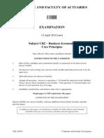 IandF CB2 201904 ExamPaper