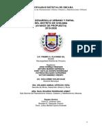 Plan Urbano Chicama 2018-2028