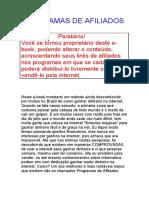 Patricia Campos Programas de Afiliados BRASIL