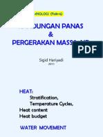 [LIMNO] Kuliah 7 (Heat & Water Movement).pptx