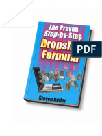 The Proven Step-By-Step Dropship Formula