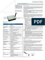 Nxa Wap250g Installation Guide
