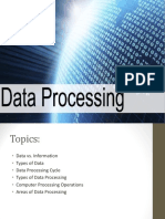 LECTURE 3-Data Processing