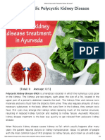 What is Ayurvedic Polycystic Kidney Disease