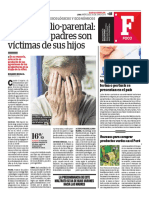Violencia Filio-parental, Cuando Los Padres Son Víctimas de Sus Hijos