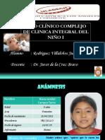 Caso Clinico Complejo Niño II