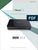 NovoDS User Manual ENG V2.1 V1.1