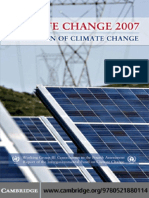 Intergovernmental Panel on Climate Change Climate Change 2007 - Mitigation of Climate Change- Working Group III contribution to the Fourth Assessment Report of the IPCC (Climate Change 2007)  .pdf