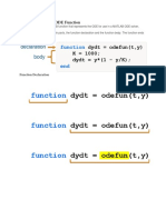 The Structure of an ODE Function