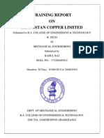 HCL Maubhandar, Project Report