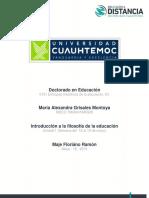 María Alexandra Grisales Montoya_1.1 Relaciones y Tareas de La Filosofía de La Educación