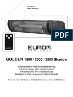 Eurom Golden Shadow