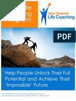 5 Day Life Coaching Program Brochure