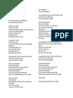 Meghan Trainor Lyrics.docx