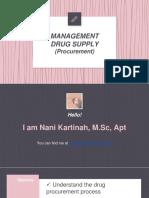 MDS Procurement