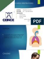 Asfixia y Parocardio Respiratorio