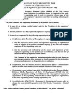 Accre-checklist October 2015 Revised