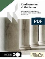 Confianza en El Gobierno Medidas Para Fortalecer El Marco Ético en Los Países de La OCDE