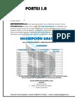 CARTA DE INVITACIÓN - PRETEMPORADA