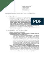 Draft of Presentation